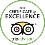 Cafe Revolucion - 2016 Certificate of Excellence